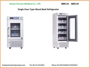 1000L 2-4 Degree Freezer Cold Chain Blood Bag Refrigerator Bbr pictures & photos