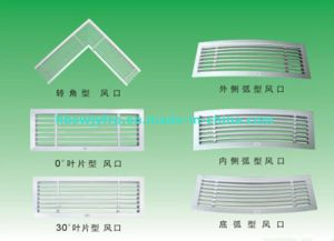 Multi Louver Steel White Color Ceiling Air Diffuser pictures & photos