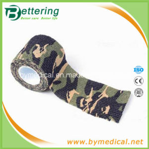 Camo Wrapping Camouflage Printing Self Adhesive Flexible Bandage pictures & photos