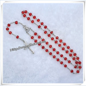 Religious Glass Beads Rosary (IO-cr137) pictures & photos