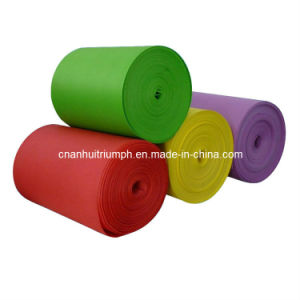 Emboss EVA Roll for Lamination Bonded Fabric of Shoes Garment Materials pictures & photos
