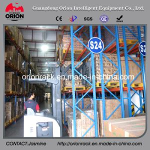 Warehouse Storage Double Deep Display Rack pictures & photos
