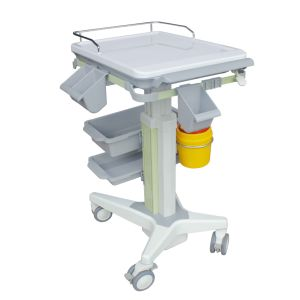 Ultrasonic Medical Equipment Trolley Cart