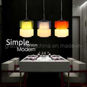Simple and Fashionable Glass Pendant Lamp (GD-1040A-1) pictures & photos