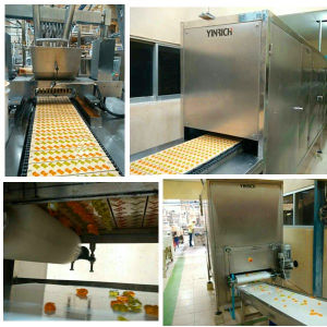 Gdq600 Automatic Gummy/Jelly (QQ) Candy Depositing Line pictures & photos