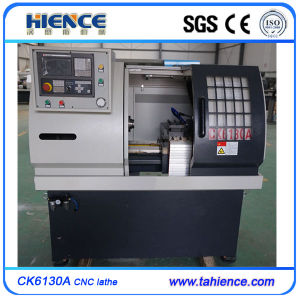 Low Cost Horizontal CNC Metal Small Machine Lathe Ck6125A pictures & photos