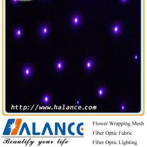 Optic Fiber Star Cloth for Wedding Background Decoration