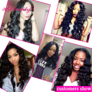 100% Human Hair Loose Wave 360 Lace Frontals pictures & photos