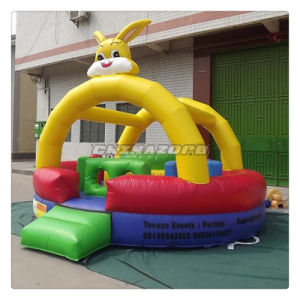 Lovely Rabbit Cartoon Theme Inflatable Bouncer Factory Directly Supply