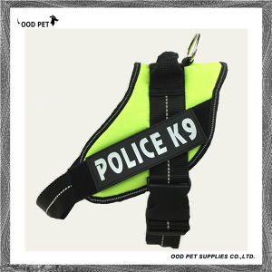 Fluorescence Green Training Dog Harness for Big Dogs Sph9019 pictures & photos