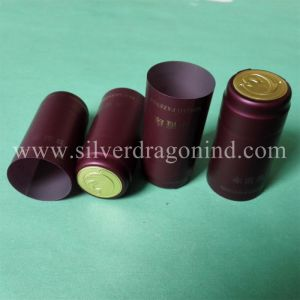 PVC Shrink Capsules for Vodka, Wine Bottle Sealing pictures & photos