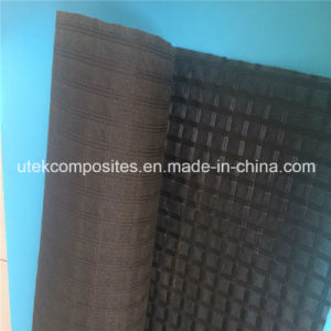 Nonwoven Backed Polyester Geogrid for Asphalt Reinforcement pictures & photos