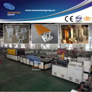 Sj65/132 PVC Profile Extrusion Line pictures & photos