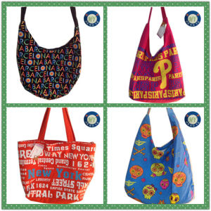 Fashion Durable Simple Canvas Tote Shopping Bag