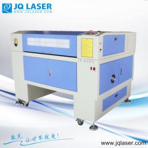Rubber Laser Engraving Machine Jq9060 for Advertisement pictures & photos