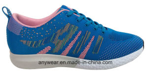 Women Gym Sports Shoes Flyknit Woven Upper (515-9744) pictures & photos