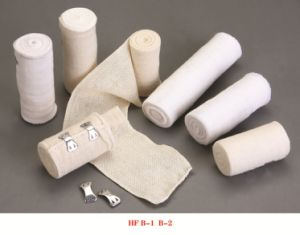 High Quality Natural Color Bandage Plaln Elastic Eith CE &ISO pictures & photos