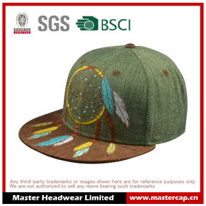 Fashion Embroidery Paper Straw Flat Brim Hats pictures & photos