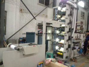 Ybs-570 Three Layer Logistics Express Adhesive Label Printing Machine pictures & photos