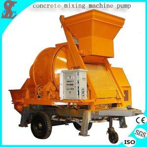 2015 Best Quality Diesel Concrete Mixing Pump Machine