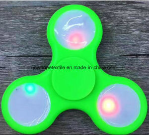 LED Fidget Spinner Hand Spinner Finger Spinner Toys LED Metal Fight Tri Digit Air Aluminum EDC Bearing Brass Spinners pictures & photos