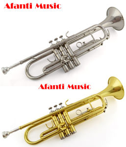 Afanti Music/ Brass Gold Lacquer Trumpet (ATR-100) pictures & photos