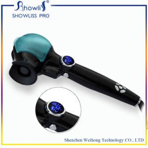 Mini LCD Steam Hair Curler Machine 2016 New