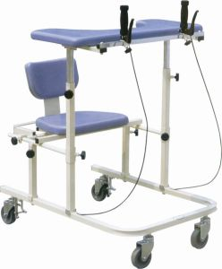 Med-R-Xyf-Z2 Auxiliary Ambulation Trainer/Walk Training Aid (with brake and seat) pictures & photos