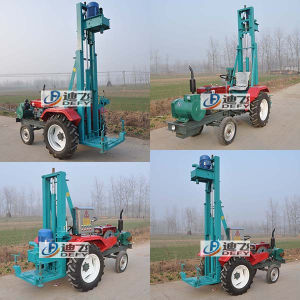 Advanced Top-Drive Technic Water Well Drilling Rig Portable pictures & photos