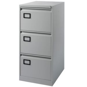 Anti-Tilt Structure Office Furniture Metal 3 Drawer File Storage Cabinet pictures & photos
