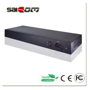 Saicom(SCHG2-21612) Multi-optical 12+16ports Gig SFP slots Unmanaged Ethernet Switch pictures & photos