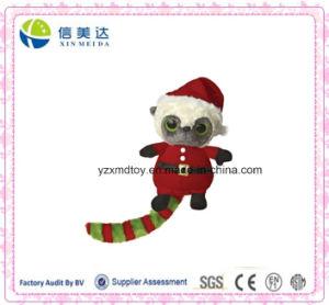 Plush Cute Plush Christmas Santa Raccoon Toy pictures & photos