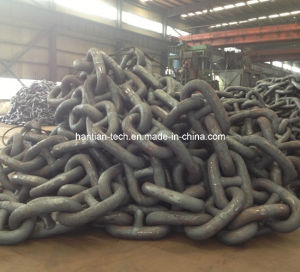 Marine Anchor Studless Chain Approved by BV pictures & photos