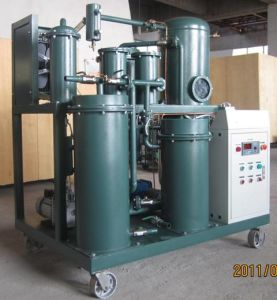 High Vacuum Lubricating Oil Filtration Plant, Hydraulic Oil Purifier pictures & photos