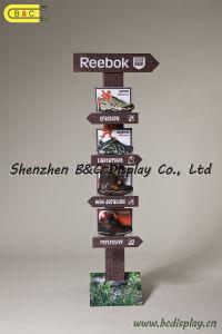 1PC/CTN Cardboard Display, Paper Display Stand, Corrugated Display, Cardboard Floor Display, Hook POS Display, Pegboard Display (B&C-A047) pictures & photos