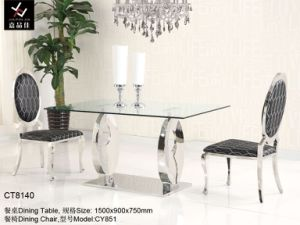 Home and Hotel Stainless Steel Dining Furniture (C-T8140)
