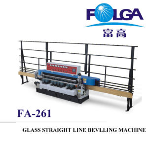 Glass Straight Line Wave Beveling Machine (FA-261M) pictures & photos