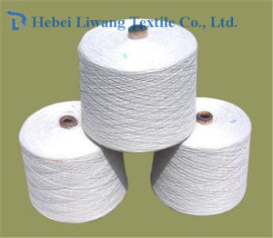 45s Weaving and Knitting Raw White Single Virgin 100% Polyester Spun Yarn