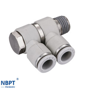 Phw Series of Pneumatic Connecting Pipes Fittings pictures & photos