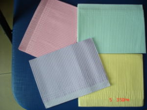 High Quality Disposable Paper Dental Bib pictures & photos