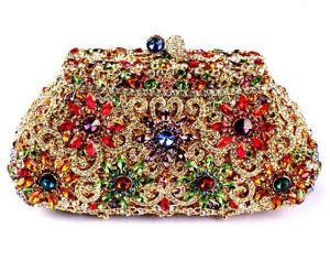 Glass Stone Evening Bag, Beautiful Party Clutch Bag pictures & photos