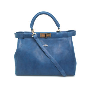 China Manufacture Fashion Ladies PU Leather Tote Crossbody Bag (XX026) pictures & photos