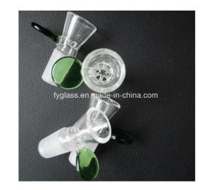 Wholesale Sheet Reticular Glass Slide with Handle Glass Water Pipe pictures & photos