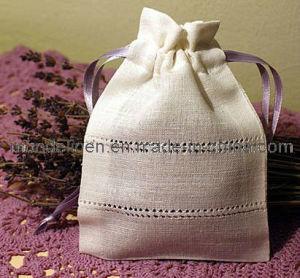 Linen Lavender Bag with Special Hemstitch (LB-003)