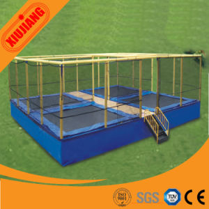 Factory Price Indoor Gym Trampoline for Children with Net pictures & photos