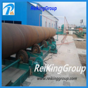 External Surface of Steel Pipe Sand Blasting Machine pictures & photos