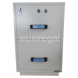 Fireproof File Metal Cabinet, UL 2 Hours Filing Cabinet (UL824FRD-II-2002) pictures & photos