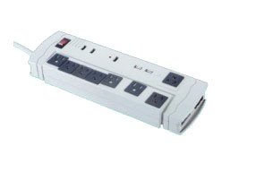8 Outlets Power Strip with ETL Approval (RPU-LTS-L01) pictures & photos