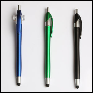 Slim Promotional Plastic Ball Pen Stylus Touch Pen (EN 1001T)