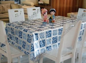 Transparent Fancy Table Cloth Cover pictures & photos